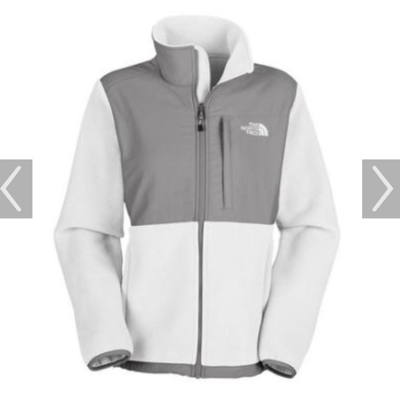 f311e08c942f1 ... canada the north face denali fleece jacket white gray 8c88f 21f08